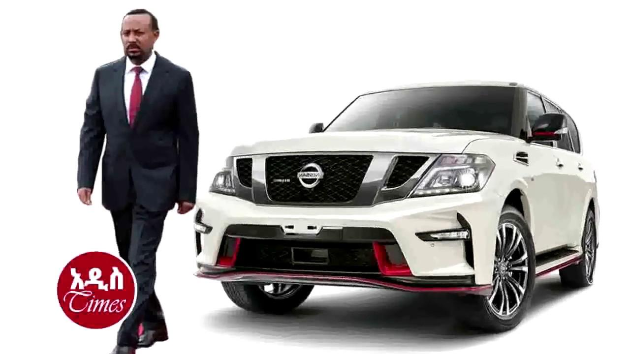 PM Abiy Ahmed's New Security Car Features